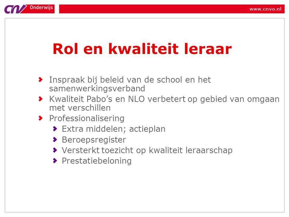 www.cnvo.nl Vraag Hoe borg je de goede ideeën van een individuele docent zodat deze ook later in de school gebruikt kunnen worden?