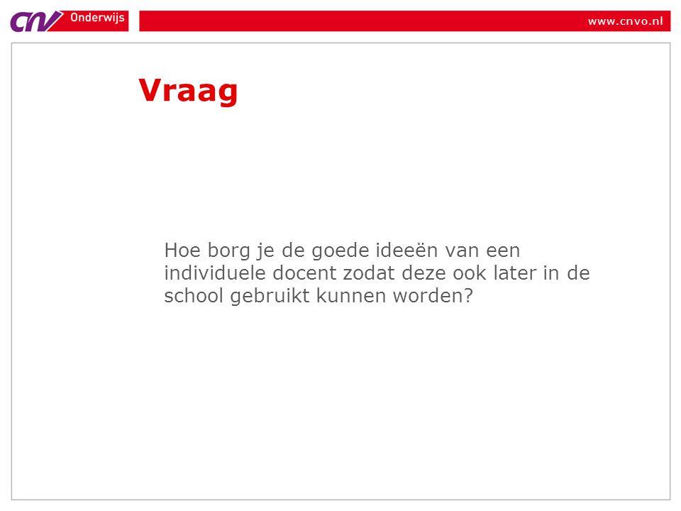 www.cnvo.nl Rol van de mr of gmr •WMS: bevoegdheden om mee te praten •Praktijk: het gaat niet over de goede dingen.