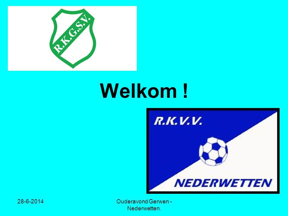 28-6-2014Ouderavond Gerwen - Nederwetten. Welkom !