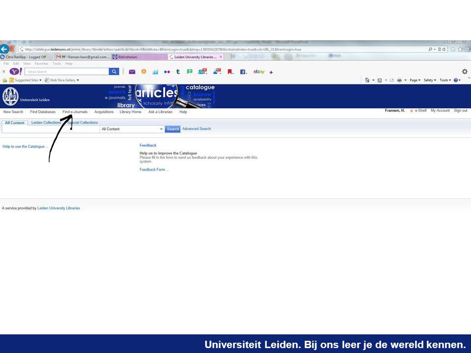 universiteit leiden bibliotheek