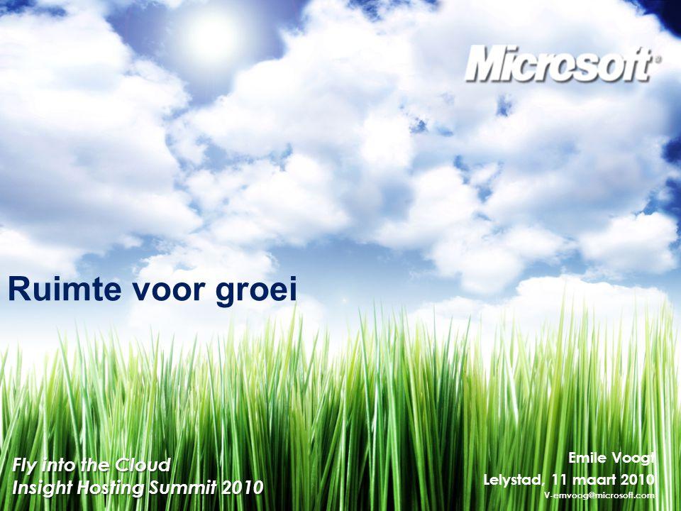 Vragen? Contact: v-emvoog@microsoft.com