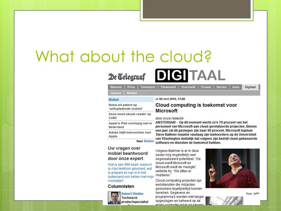 25% van het MKB maakt gebruik van hosted e-mail Gartner: E-mail is zichtbaar, ook voor de CEO.