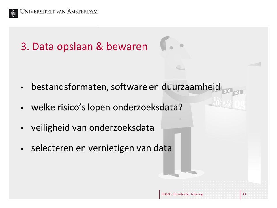  bestandsformaten, software en duurzaamheid  welke risico's lopen onderzoeksdata.
