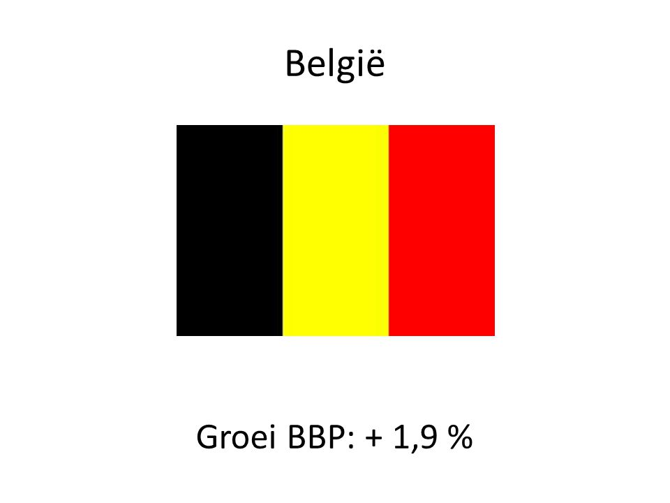 Vlaanderen Groei BBP: + 1,86 % (laatste 12 jaar nooit boven 3,8%)