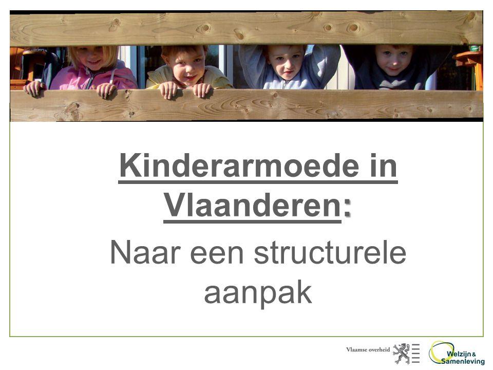 : Kinderarmoede in Vlaanderen: Naar een structurele aanpak