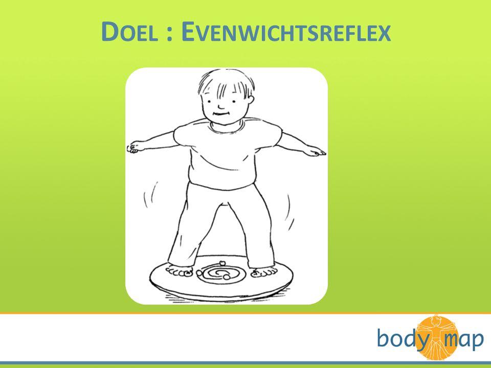 D OEL : E VENWICHTSREFLEX