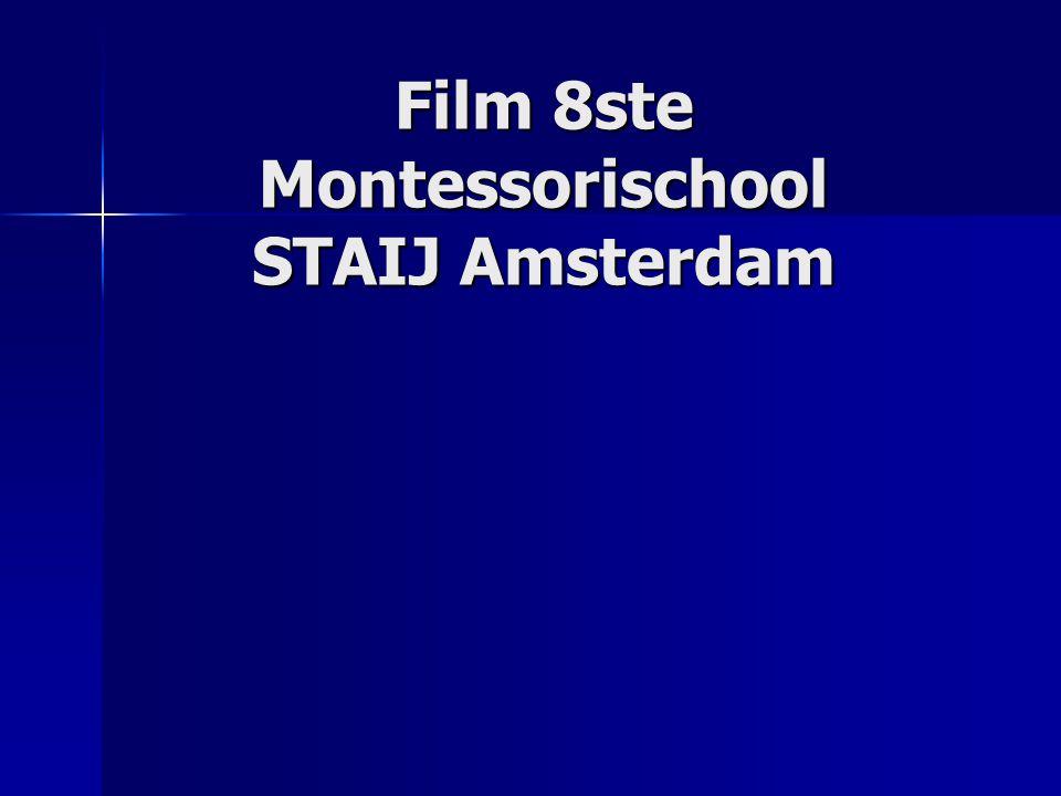 Film 8ste Montessorischool STAIJ Amsterdam
