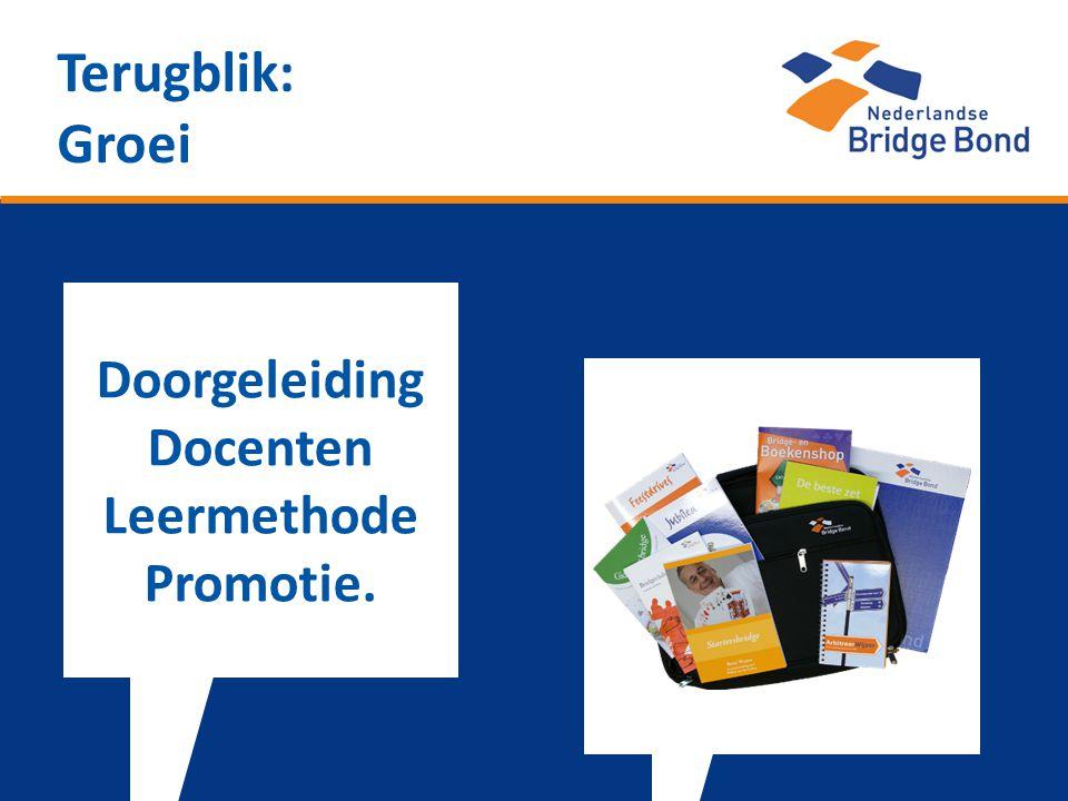 Terugblik: Groei Doorgeleiding Docenten Leermethode Promotie.