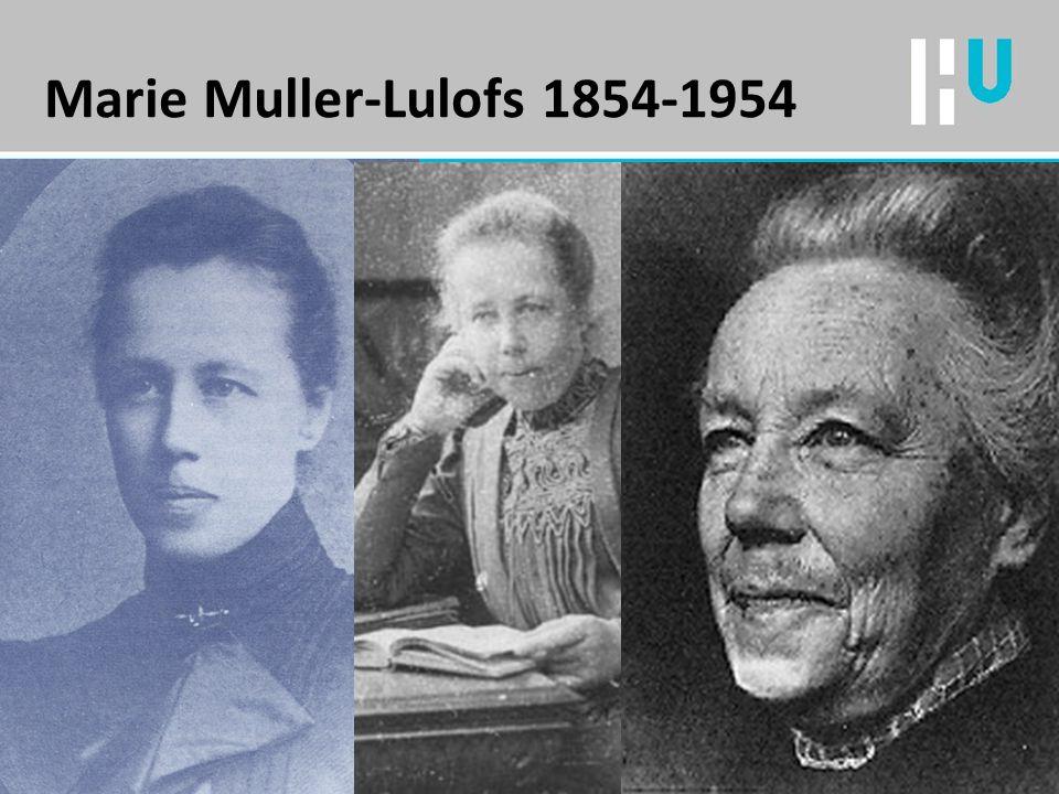 Marie Muller-Lulofs 1854-1954