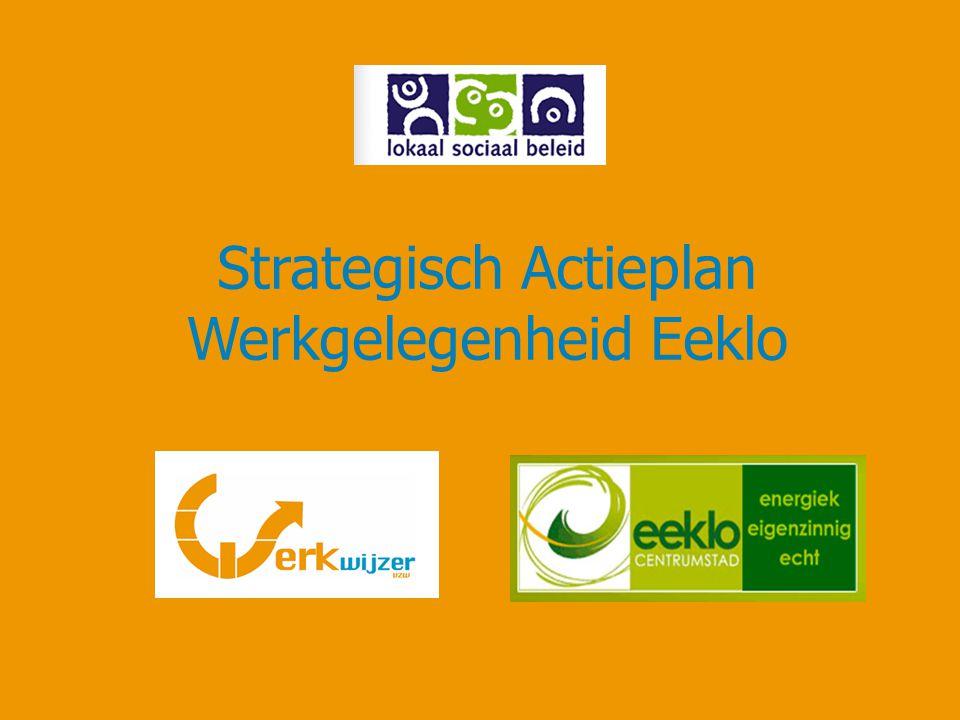 Strategisch Actieplan Werkgelegenheid Eeklo