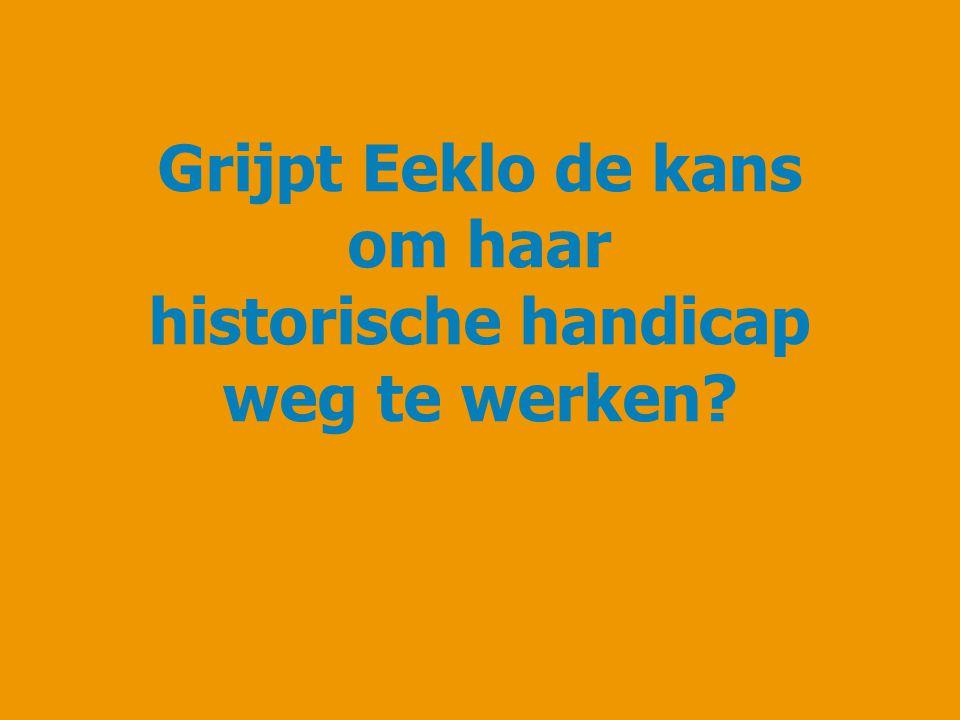 Grijpt Eeklo de kans om haar historische handicap weg te werken
