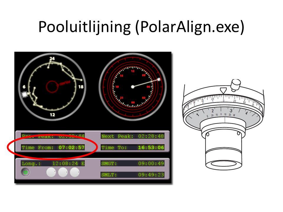 Pooluitlijning (PolarAlign.exe)