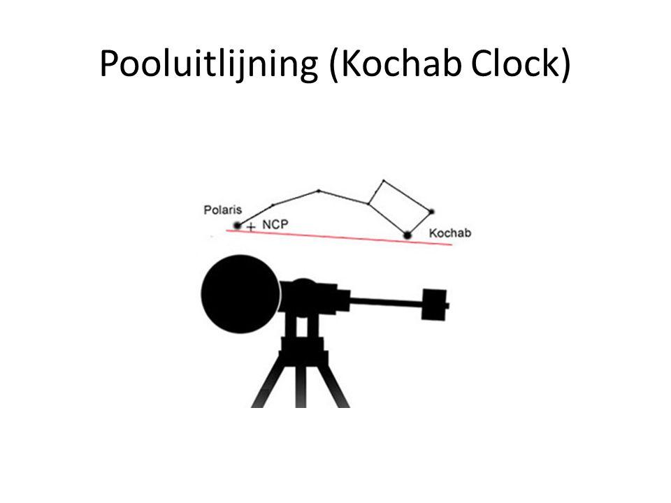 Pooluitlijning (Kochab Clock)