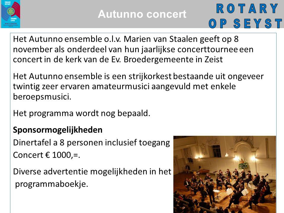 Autunno concert Het Autunno ensemble o.l.v.