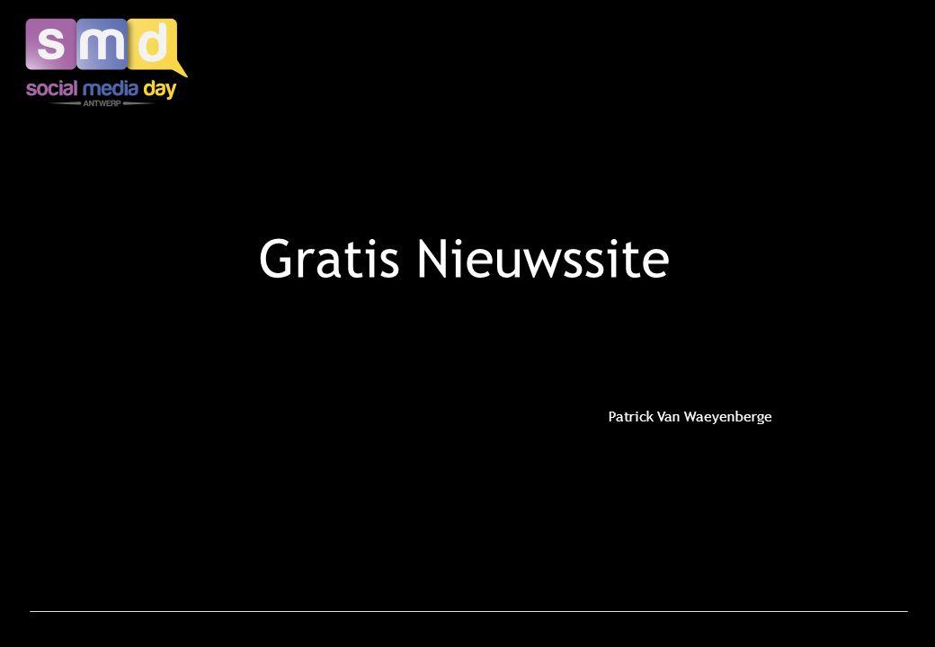 Gratis Nieuwssite Patrick Van Waeyenberge