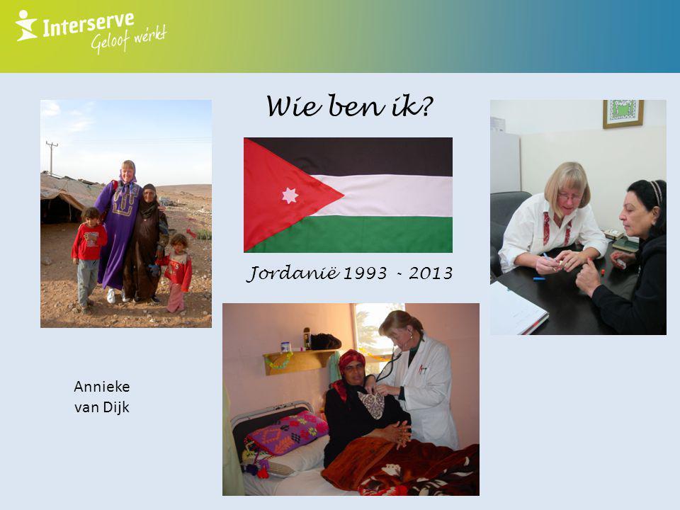 Wie ben ik? Jordanië 1993 - 2013 Annieke van Dijk