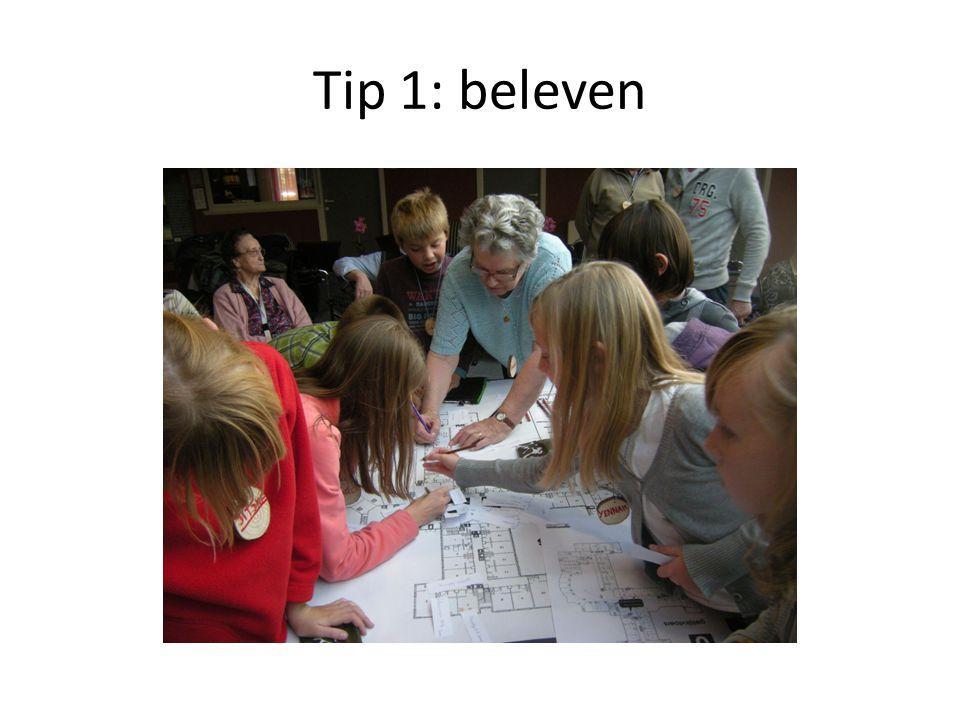 Tip 2: vijf zintuigen