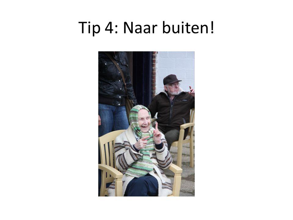Tip 5: herkenbaar