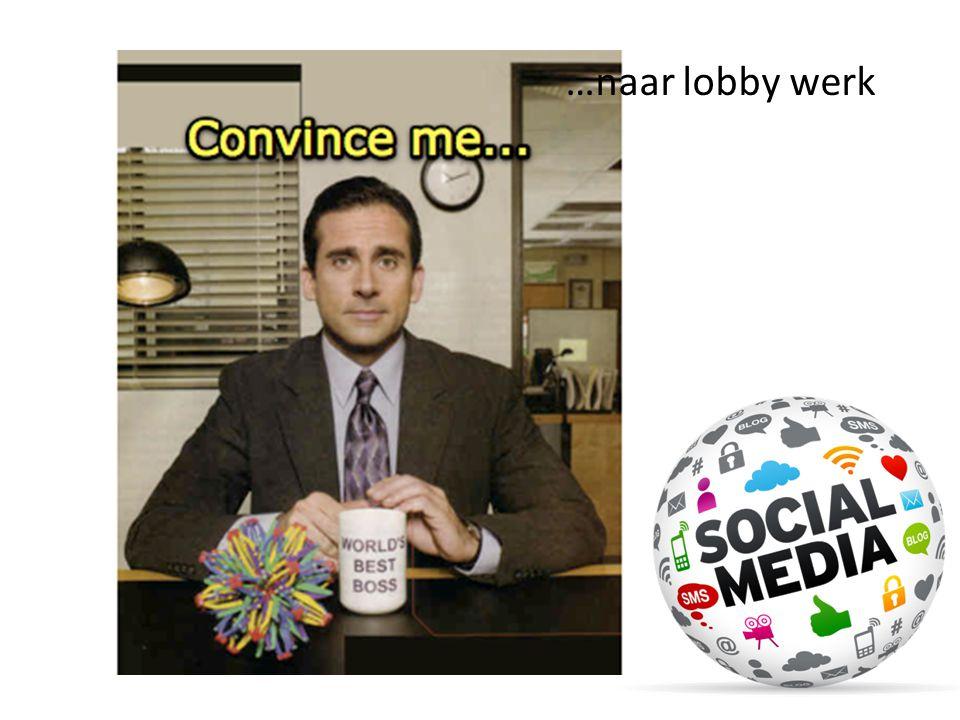 …naar lobby werk