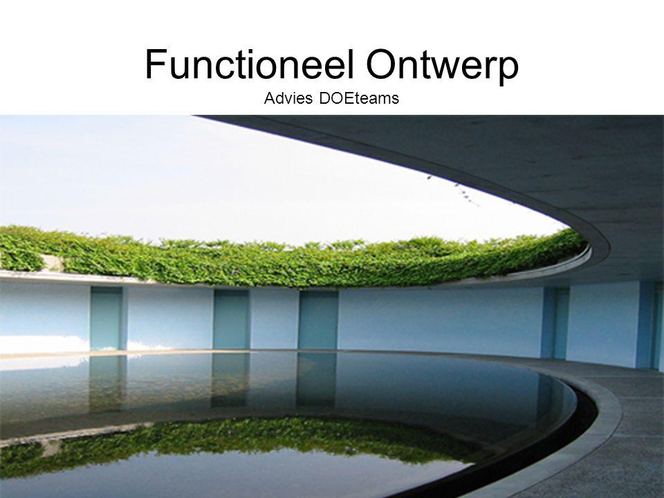 Functioneel Ontwerp Advies DOEteams