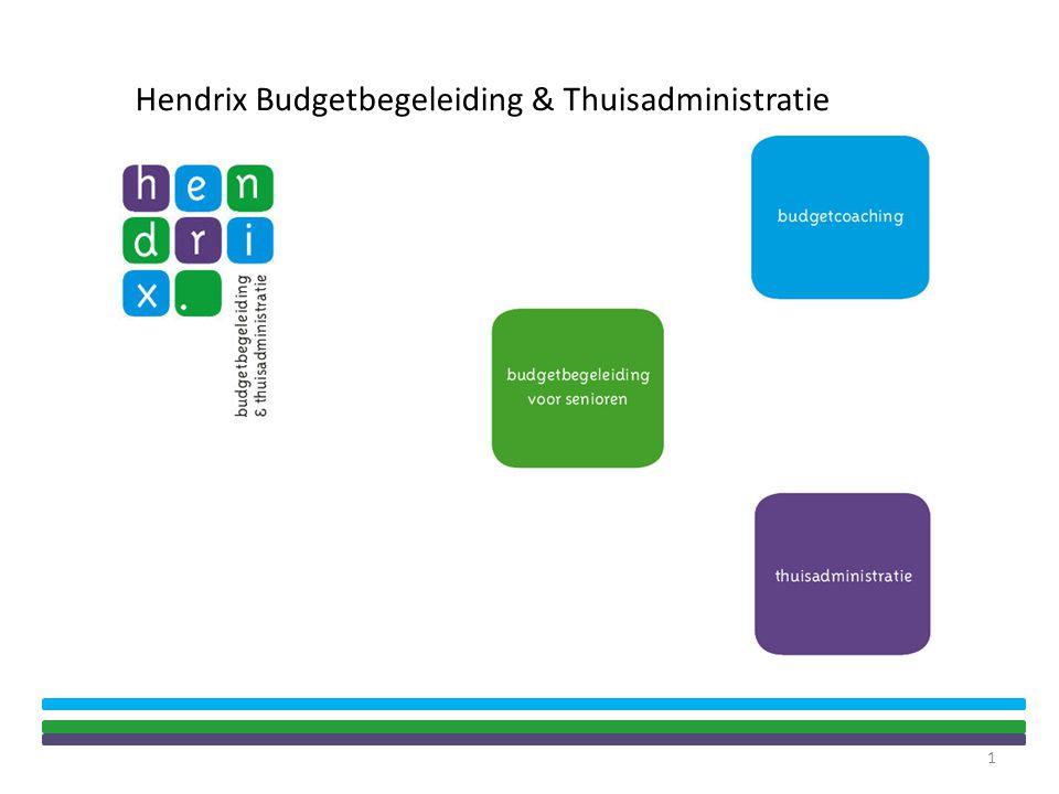 1 Hendrix Budgetbegeleiding & Thuisadministratie