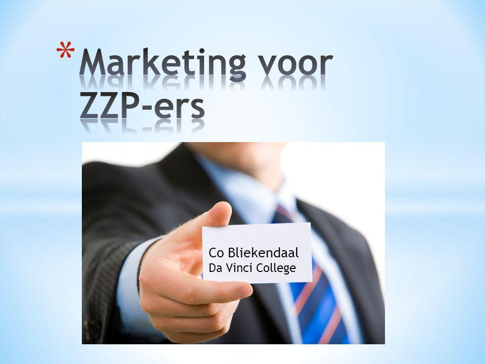 * Marketing gaat uit van de behoeften van uw klanten.