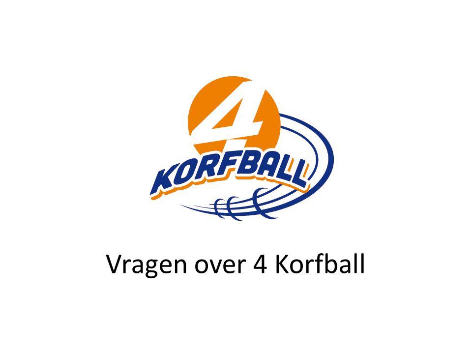 Vragen over 4 Korfball