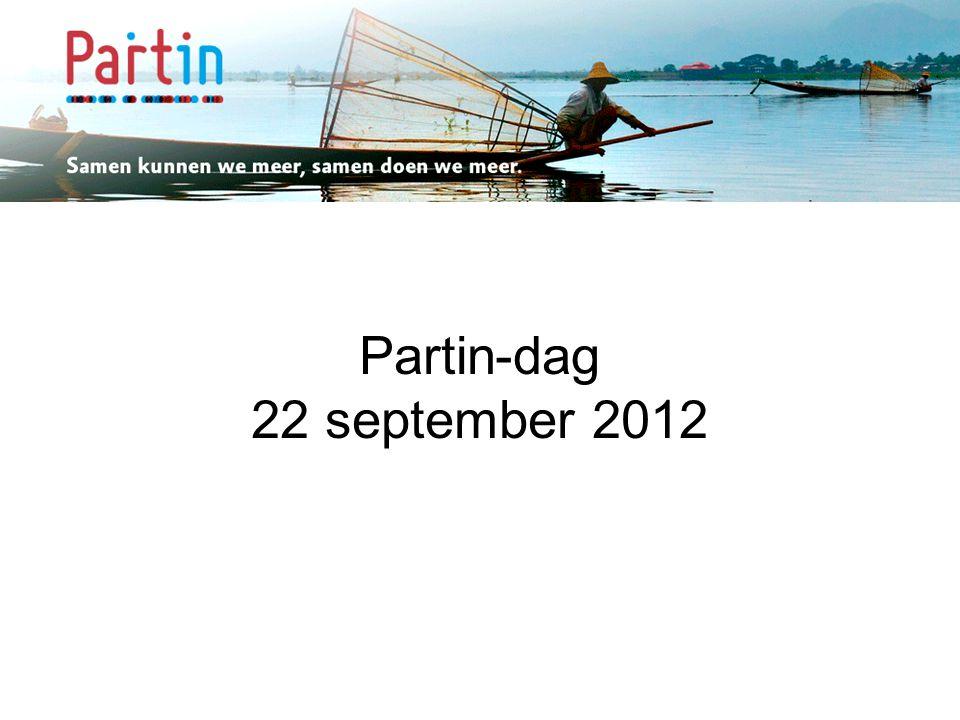 Samen kunnen we meer … Partin-dag 22 september 2012