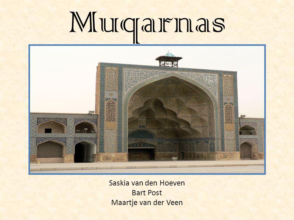 Muqarnas Saskia van den Hoeven Bart Post Maartje van der Veen
