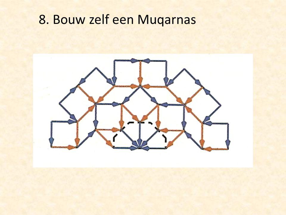 8. Bouw zelf een Muqarnas