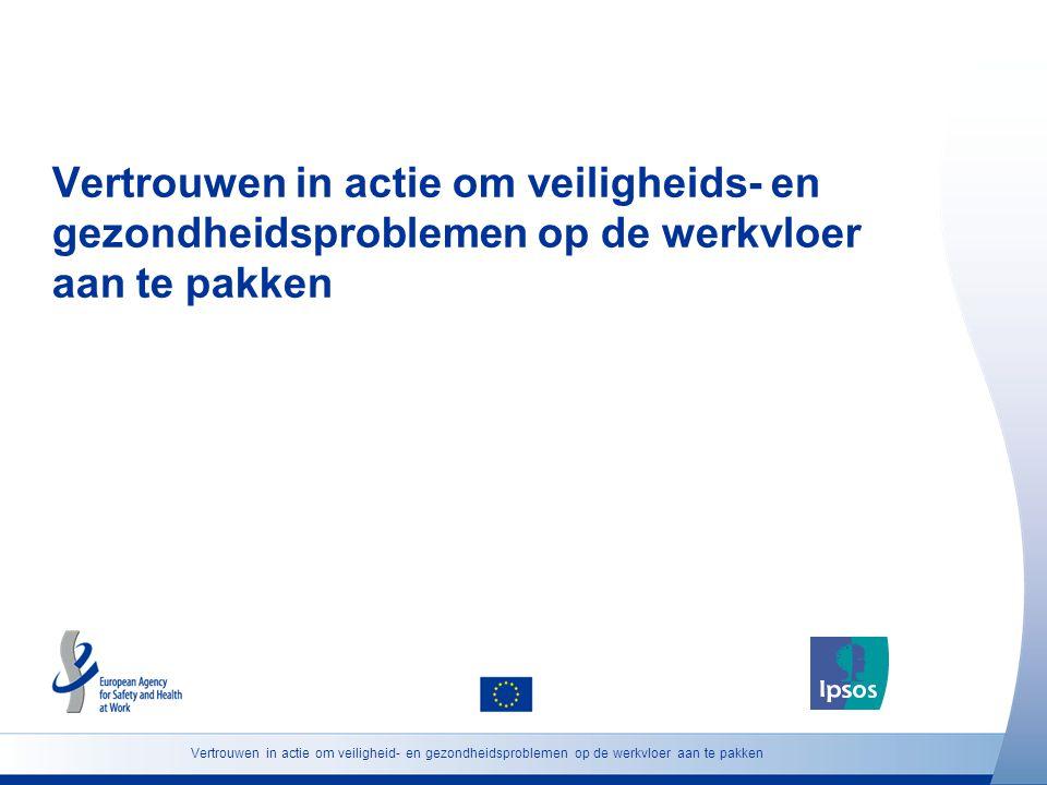 Vertrouwen in actie om veiligheids- en gezondheidsproblemen op de werkvloer aan te pakken Vertrouwen in actie om veiligheid- en gezondheidsproblemen o