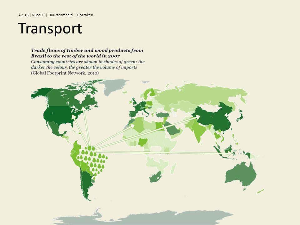 Transport A2-16 | REcoEP | Duurzaamheid | Oorzaken