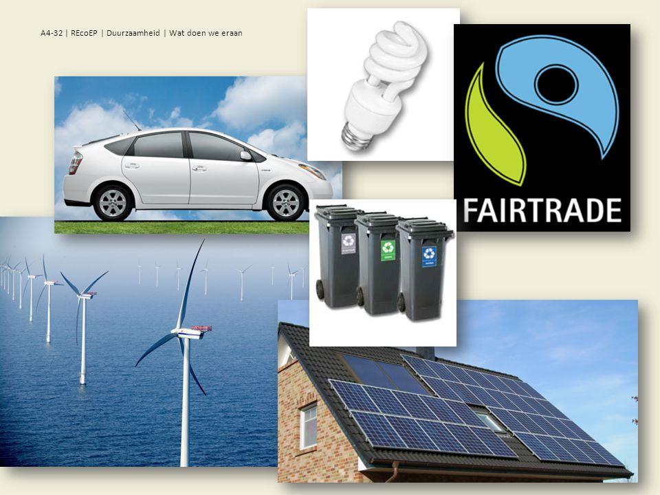 A4-32 | REcoEP | Duurzaamheid | Wat doen we eraan