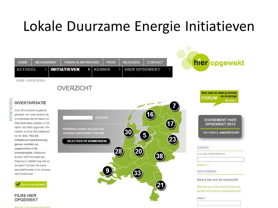 Lokale Duurzame Energie Initiatieven