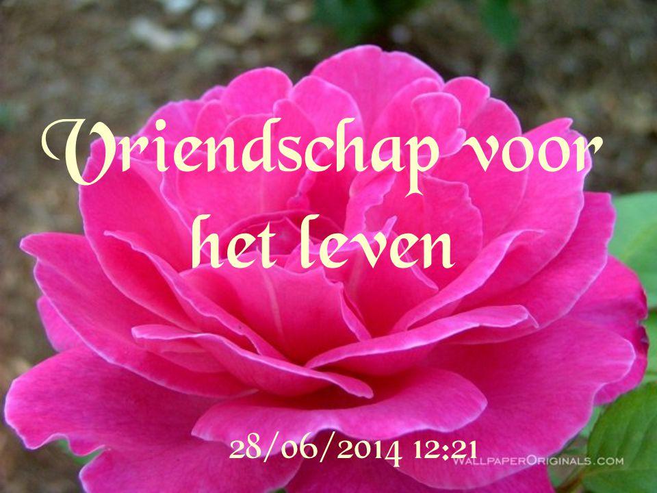 Vriendschap voor het leven 28/06/2014 12:22