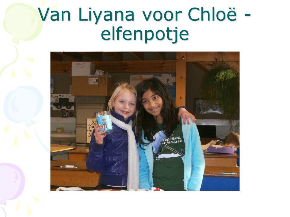 Van Liyana voor Chloë - elfenpotje