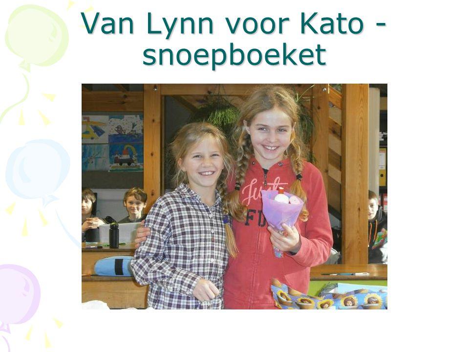 Van Lynn voor Kato - snoepboeket