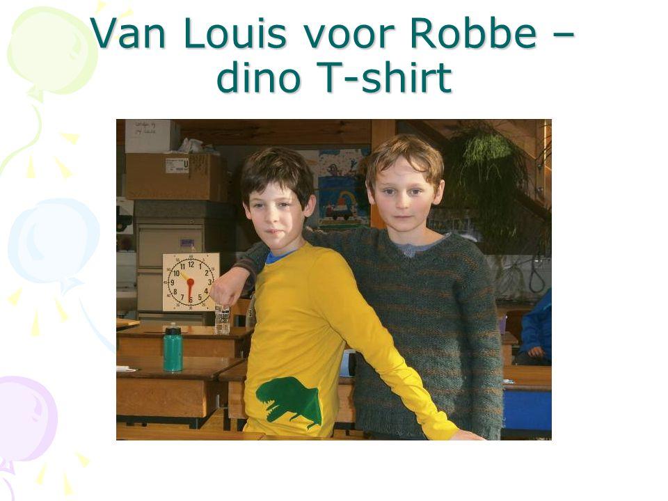 Van Louis voor Robbe – dino T-shirt