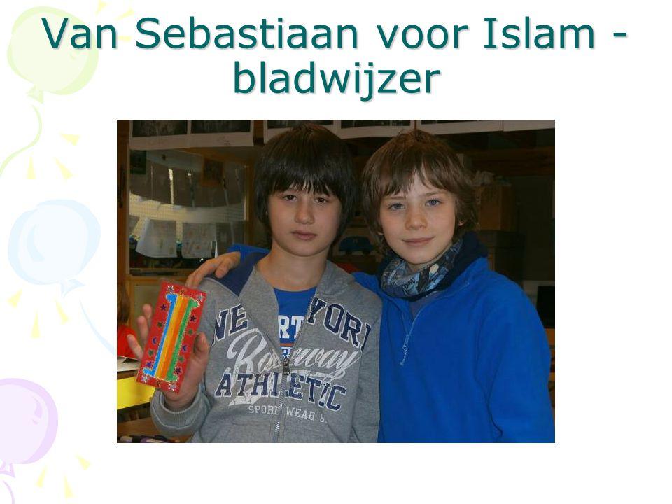 Van Sebastiaan voor Islam - bladwijzer