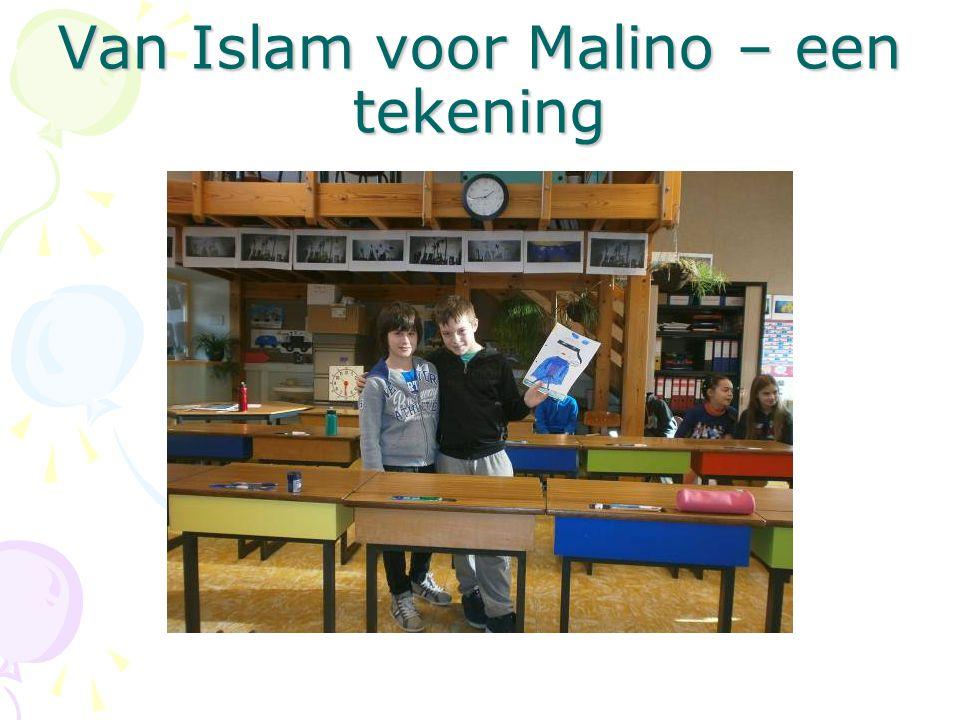 Van Islam voor Malino – een tekening