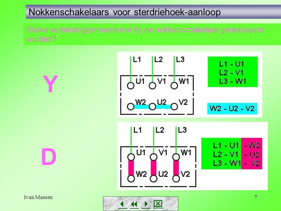 Ivan Maesen8 Nokkenschakelaars voor sterdriehoek-aanloop Voorbeeld 1 (fig.