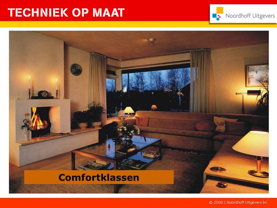 Comfortklassen De buiteninstallatie: Bij de A-klasse is één buitenlamp (bij de voordeur) voldoende.