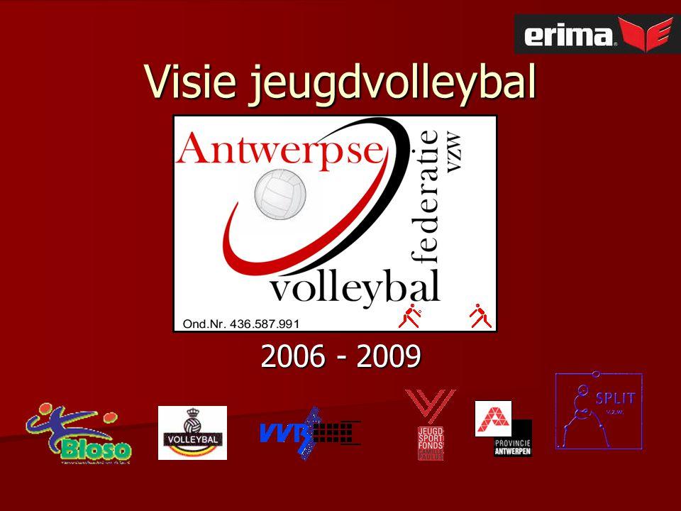 Visie jeugdvolleybal 2006 - 2009