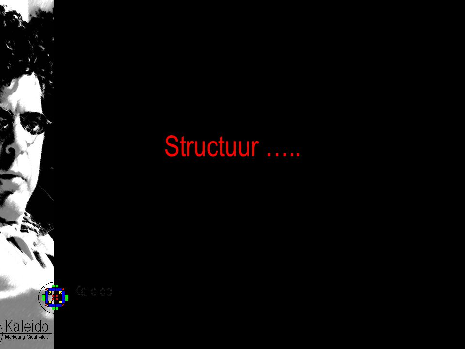 Structuur …..