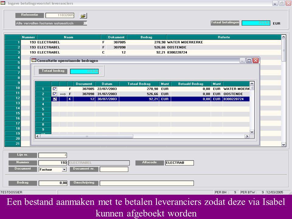 een email-bestand aanmaken… Intrastat-gegevens afdrukken of…