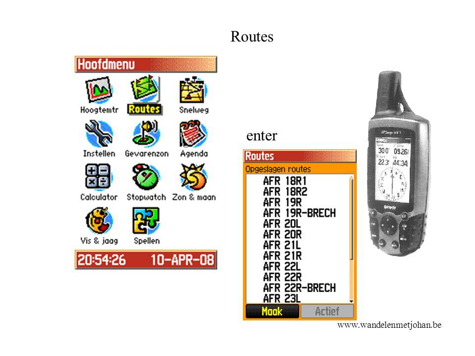 Routes enter www.wandelenmetjohan.be