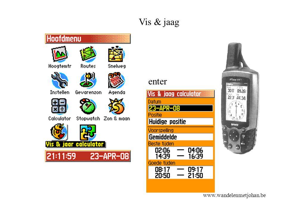 Vis & jaag enter Vis & jaag www.wandelenmetjohan.be