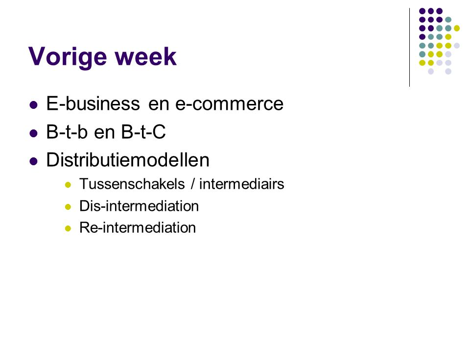 Vandaag / komende weken (zie lesprogramma)  Milestone1: Volgende week afspraak rond zijn met bedrijf (Marijke maakt deze afspraak in de week voor kerstvakantie).