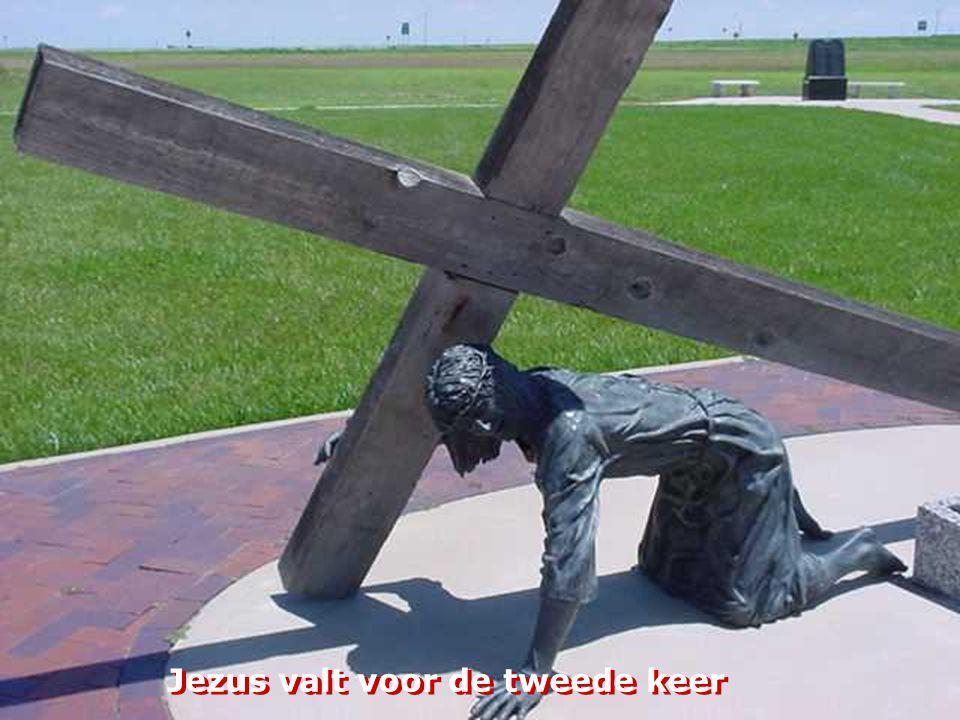 Jezus wordt gereinigd door Veronica