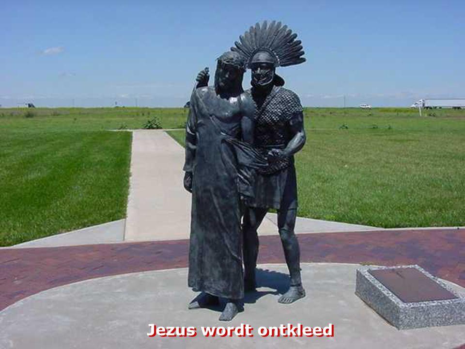 Jezus troost de meisjes van Jeruzalem